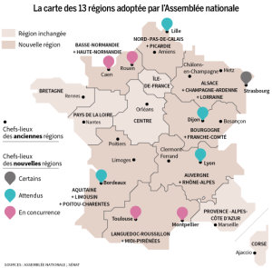 Your French Region may Change Was 22 French Regions Now 13 | ESREA France